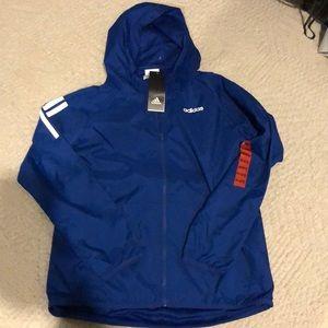 Adidas boys jacket size M 10/12